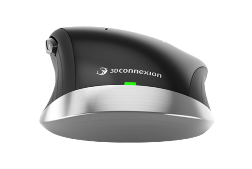 3Dconnexion CadMouse Wireless achter