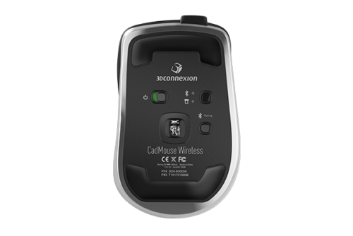 3Dconnexion CadMouse Wireless onderkant