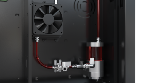 RAPID ONE Liquid cooling